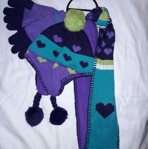 3pc girl  gloves set